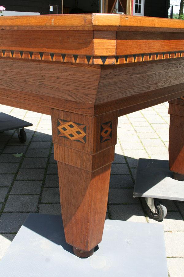 antiker Biliardtischantike Möbel Biedermeiermöbel Britsch