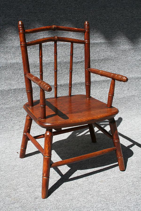 kinderstuhl um 1900 antike biedermeier m bel britsch. Black Bedroom Furniture Sets. Home Design Ideas