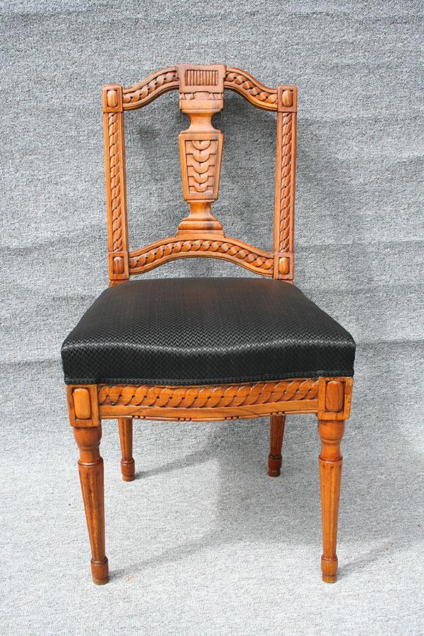 antiker stuhl louis seize antike biedermeier m bel britsch. Black Bedroom Furniture Sets. Home Design Ideas