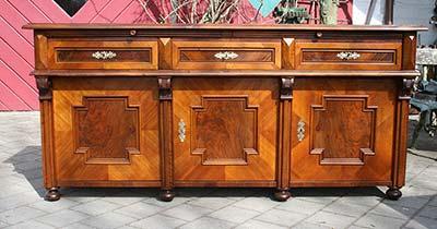 k chenbuffet art d co antike biedermeier m bel britsch. Black Bedroom Furniture Sets. Home Design Ideas