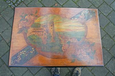 antikes Beistelltischchen, Ansicht Heidelberg
