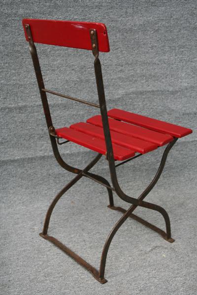 antike Gartenstühle, restauriert