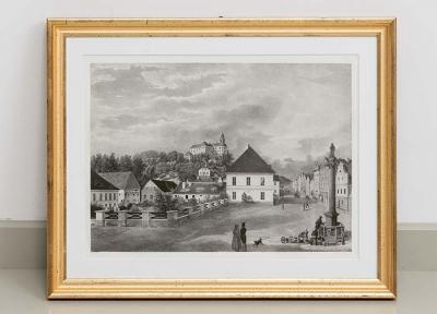 Lithografie Lithographie Warthausen