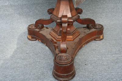 Biedermeier Salontisch, Detail