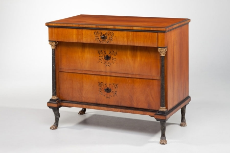 antike biedermeierkommode kirschbaum antike biedermeier m bel britsch. Black Bedroom Furniture Sets. Home Design Ideas