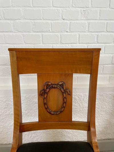 Restaurierung, Stühle, Biedermeierstil, Nussbaum, um das Jahr 1900 hergestellt