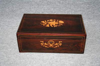 antike Schreibschatulle, England, gefertigt um 1860