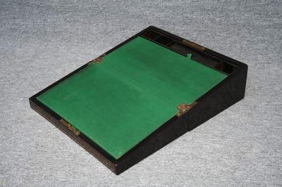 antike Schreibschatulle, England, aufgeklappt ca. 46cm Tiefe