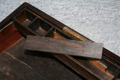 antike Schreibschatulle, England