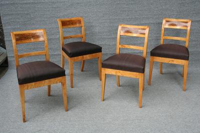 antike Stühle, Biedermeier, um 1830 gefertigt