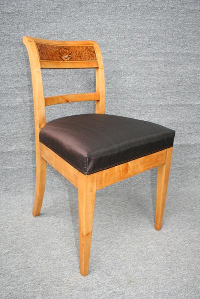 antike Stühle, Biedermeier, restauriert