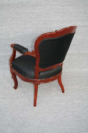 antiker Sessel, Wiener Barock, um 1845 gefertigt