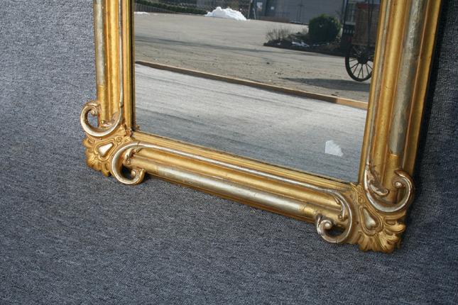 antiker Spiegel, Detail