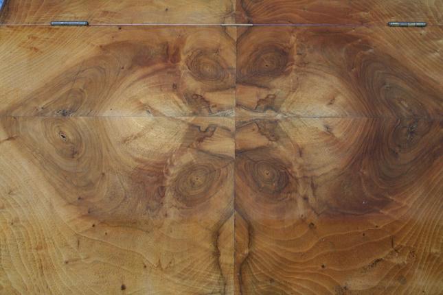 Antikes Schreibpult ,Biedermeier, Nussbaum
