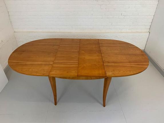 Auszugtisch, Kirschbaum, um 1900 hergestellt
