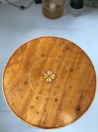 antikes Beistelltischchen, um 1860 gefertigt