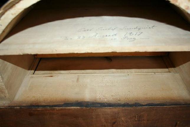 historischer Schreibschrank um 1817
