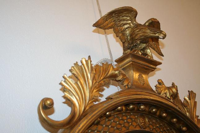 antiker Spiegel, England um 1810