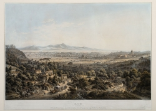 historische Ansicht von Rom