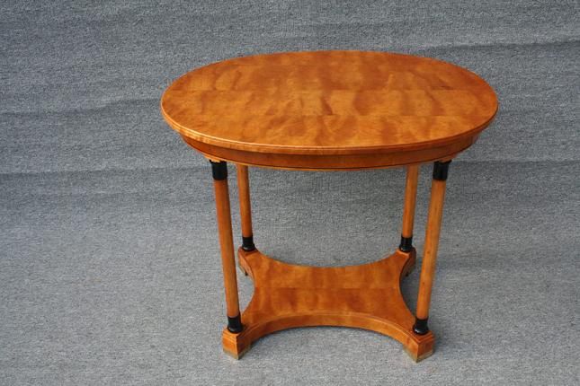 ovaler Tisch, Art déco