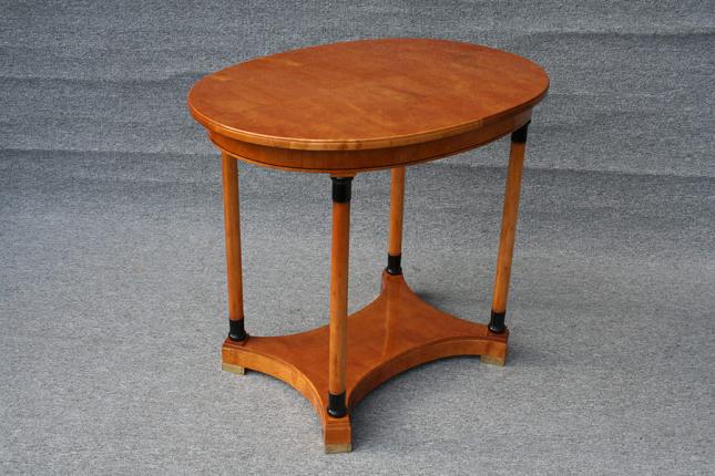 ovaler Tisch, um 1920