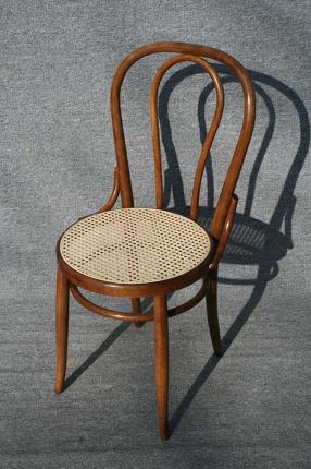 Bugholzstuhl aus einem Paar antike Bugholzstühle