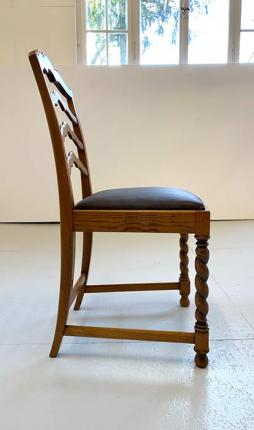 Satz Stühle, Gründerzeit, um das Jahr 1880 hergestellt