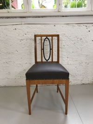 Stühle, Art déco, Kirschbaum