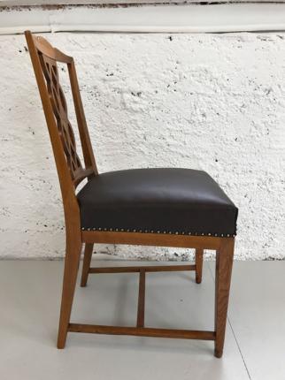 Stühle, Art déco, Eiche