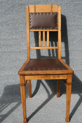 antike Stühle, Art déco, um 1920