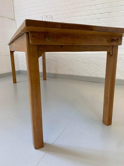 Tübinger Wirtshaustisch, Buche, Art déco, um das Jahr 1830