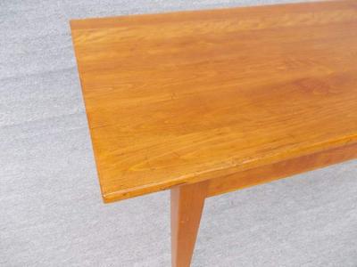 Tübinger Wirtshaustisch, Buche massiv