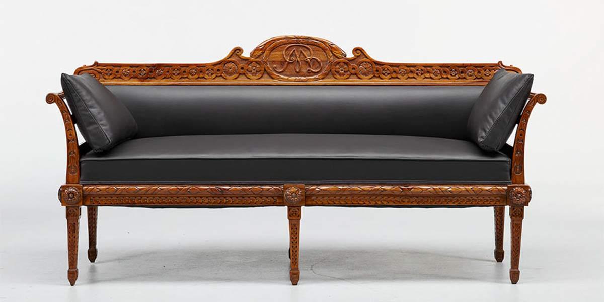 Antike Stühle, Sofas, Bänke Sessel kaufen