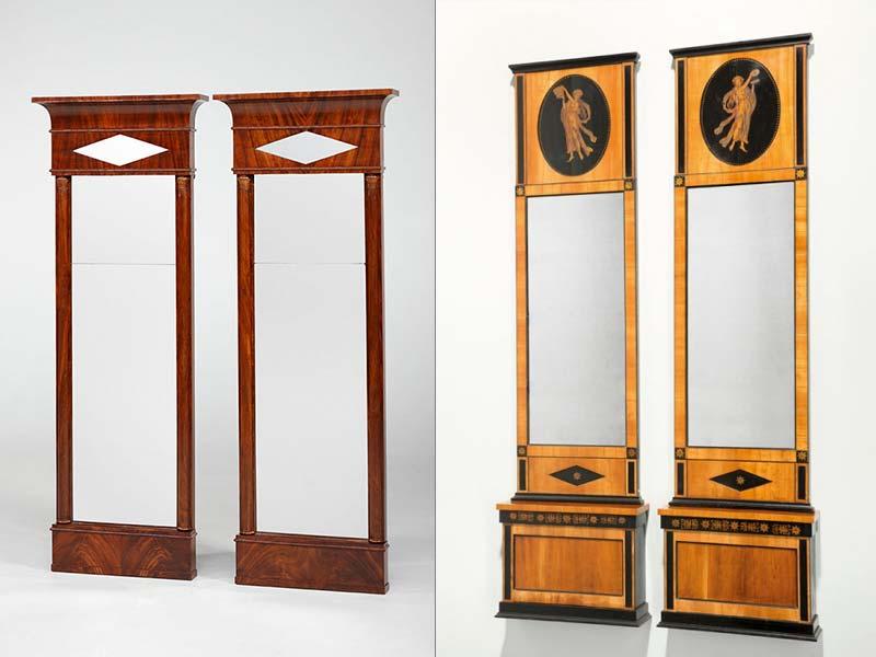 Biedermeier Spiegel antike spiegel biedermeier - | antike biedermeier möbel britsch