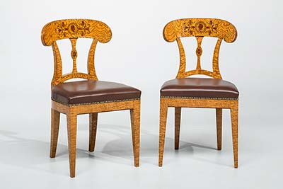 satz biedermeierst hle antike biedermeier m bel britsch. Black Bedroom Furniture Sets. Home Design Ideas