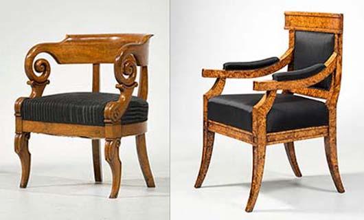 Biedermeier Sitzmöbel Antike Biedermeier Möbel Britsch