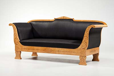 Biedermeier-Sofa